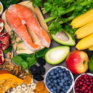 Background healthy food for heart. Healthy food, diet and healthy life concept. Top view